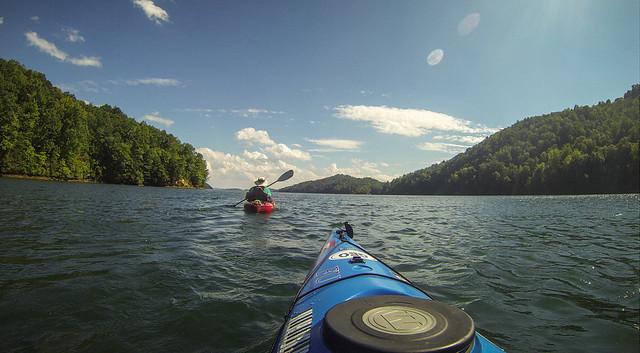 Lake Jocassee with Bennie Waddell-113