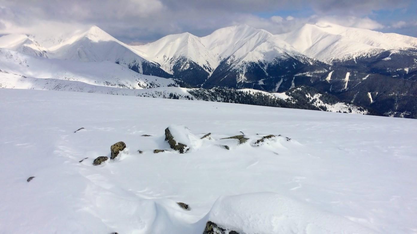 Druhý vrchol Kleiner Ringkogel (2110m)