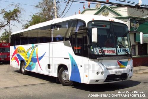 Pullman Luna Express - Santiago - Comil Campione 3.25 / Mercedes Benz (WR7766)