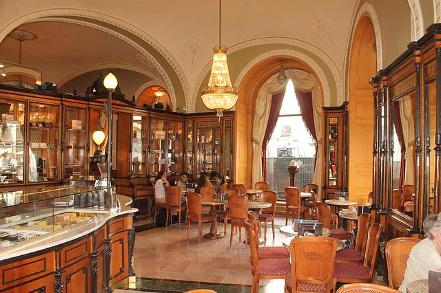 Cafe más bonitos de Budapest