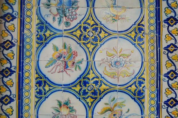 Azulejos at Mercado da Ribeira | The Streets of Lisbon | No Apathy Allowed
