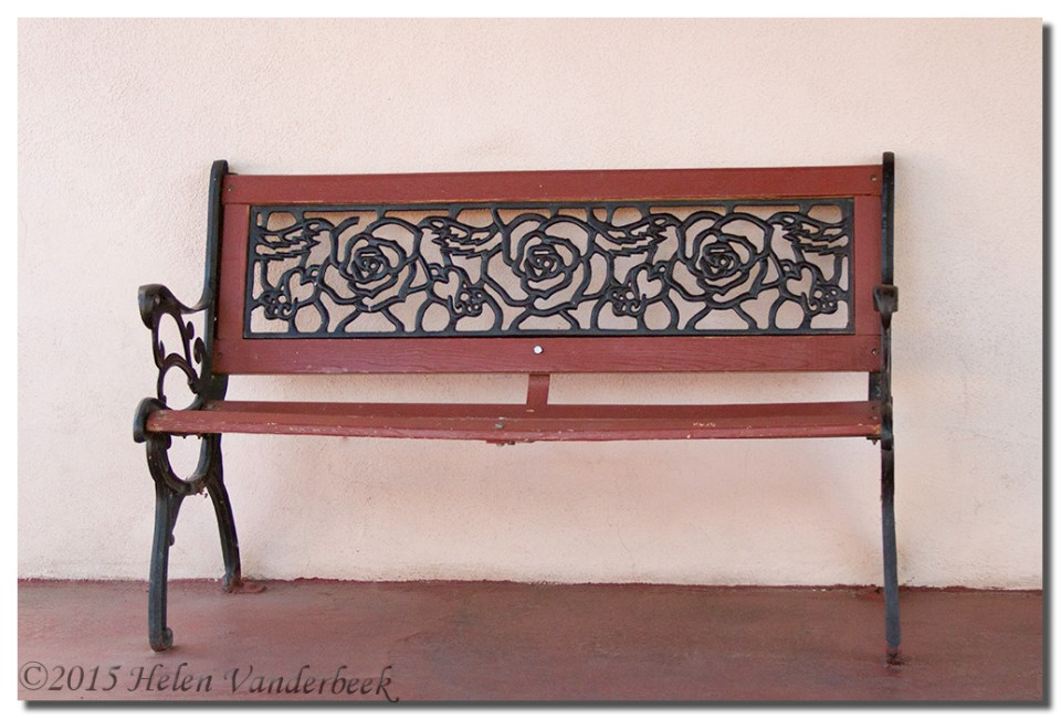 Bench of Roses