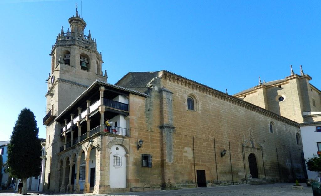 Iglesia Colegiata Santa Maria de la Encarnacion Mayor Ronda Malaga 01