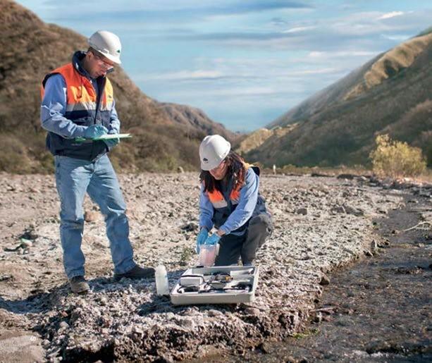 Monitoreo biológico de ríos