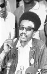H 'Rap' Brown at Press Conference: 1967