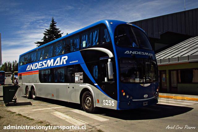 Andesmar | Bariloche | Metalsur Starbus 2 - Mercedes Benz / NOL260 - 5255