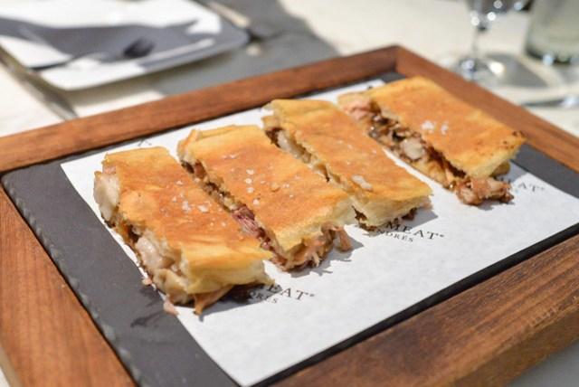 Sucking Pig Sandwich horseradish aioli and caramelized onions