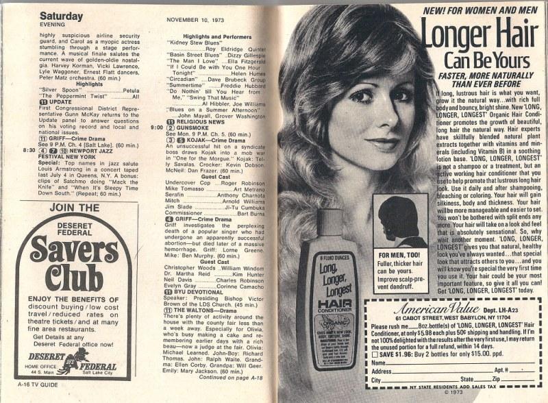 TV Guide (Nov. 10-16, 1973)