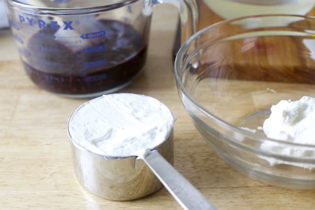 breakfast yogurt, repurposed
