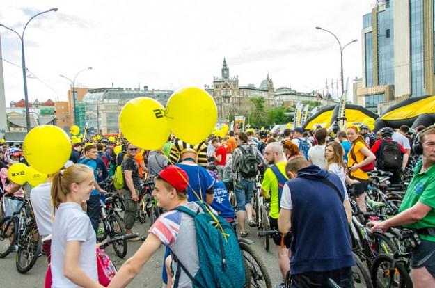 V Московский Велопарад