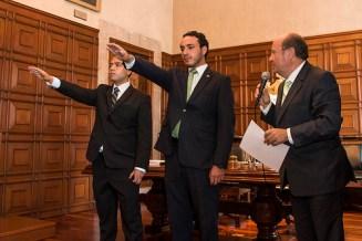 Rector de la UASLP tomó protesta a nueva directiva de la FUP