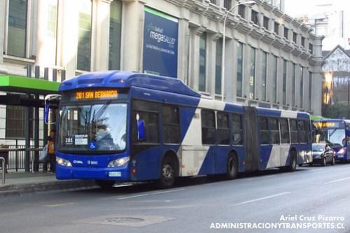 Transantiago - Subus Chile - Caio Mondego LA / Volvo (WC2775)
