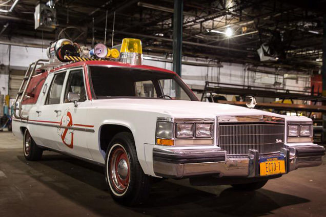 Ghostbusters 2016 Ecto-1
