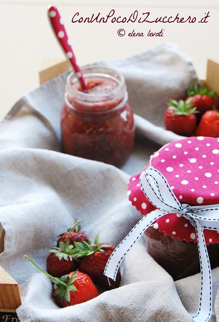 Confettura di fragole senza zucchero - sugar free strawberry jam