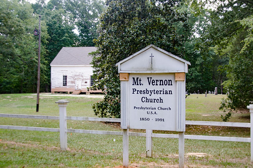 Mount Vernon Presbyterian Church and Cemetery