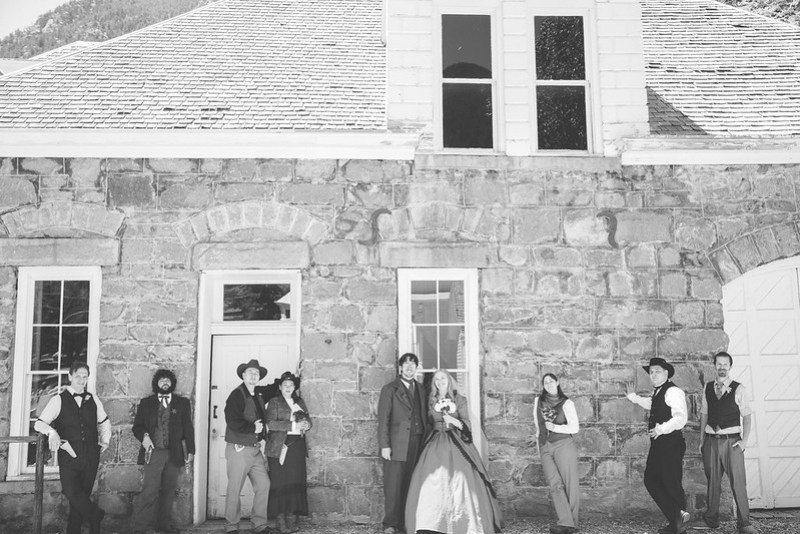 Bluegrass mountain wedding from @offbeatbride