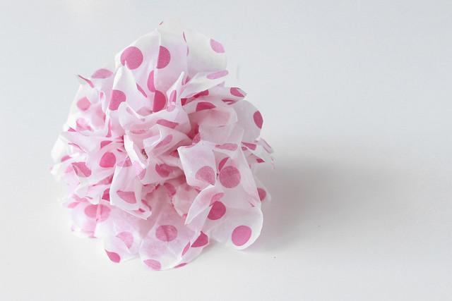 DIY Paper Pom Pom 06