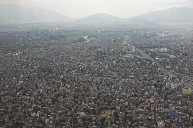 Kathmandu Aerial