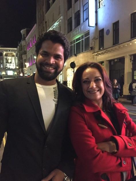 With Irfan Siddiqui