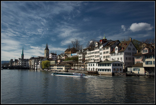 Cruising on the Limmat