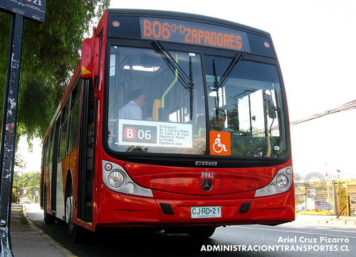 Transantiago - Buses Gran Santiago - Caio Mondego H / Mercedes Benz (CJRD21)