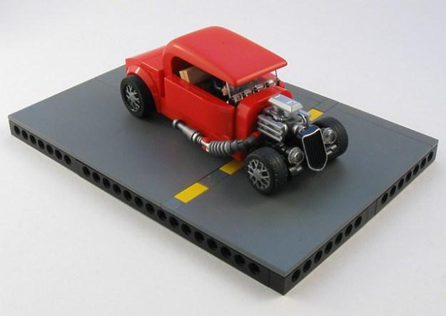 Red Hot Lego Vehicle