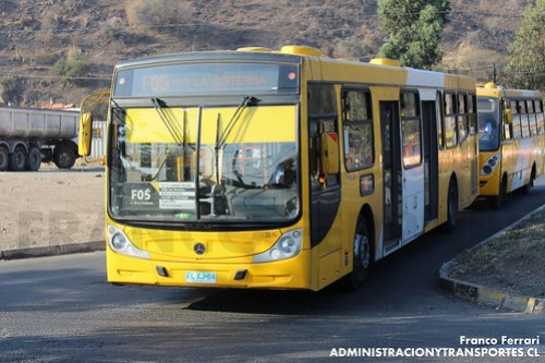 Transantiago - STP Santiago - Caio Mondego H / Mercedes Benz (FLXJ64)