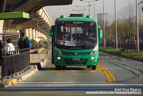 Transantiago - Buses Vule - Busscar Micruss / Mercedes Benz (BJFP20)