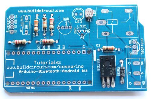 Step 5- Solder BD139 NPN transistor