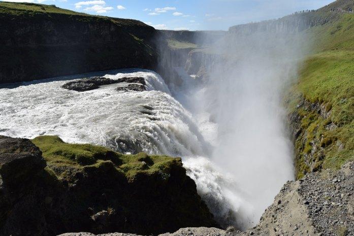 Catarata de Gullfoss, Islandia