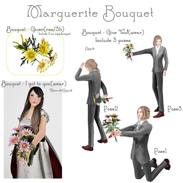 NAMINOKE MARGUERITE BOUQUET