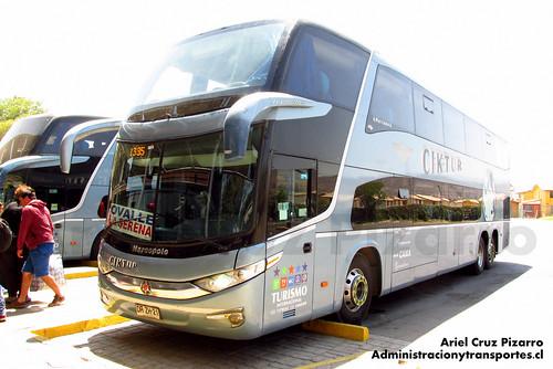 Ciktur - Ovalle - Marcopolo Paradiso 1800 DD / Volvo (DRZH21)