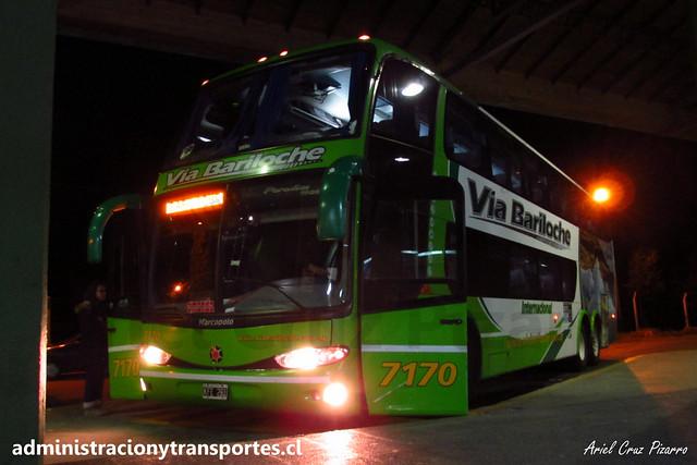 Vía Bariloche | Bariloche | Marcopolo Paradiso 1800 DD - Mercedes Benz / KFE281 - 7170