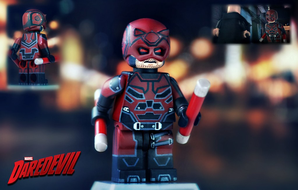 LEGO Daredevil  Netflix    Here he is  I ve finally finished      Flickr     LEGO Daredevil  Netflix    by MGF Customs Reviews
