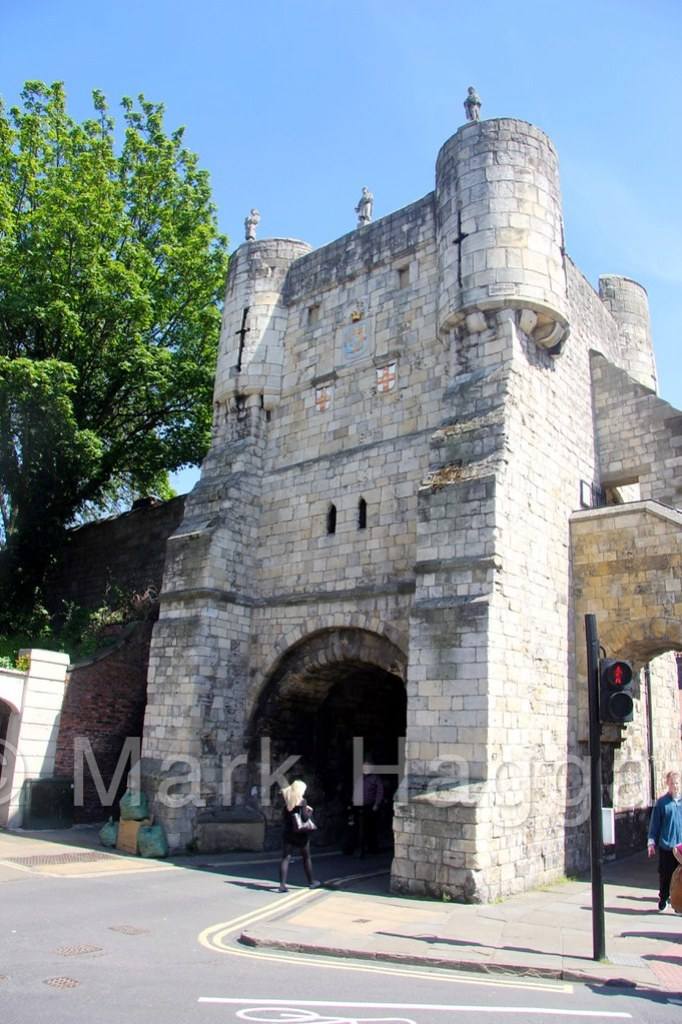 Bootham Bar, or Gate, as part of The Walls of York