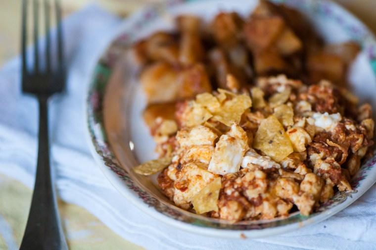 Chorizo Scramble