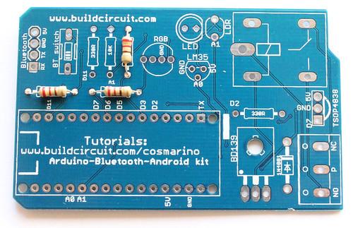 Step 1- Solder 220 Ohm resistors