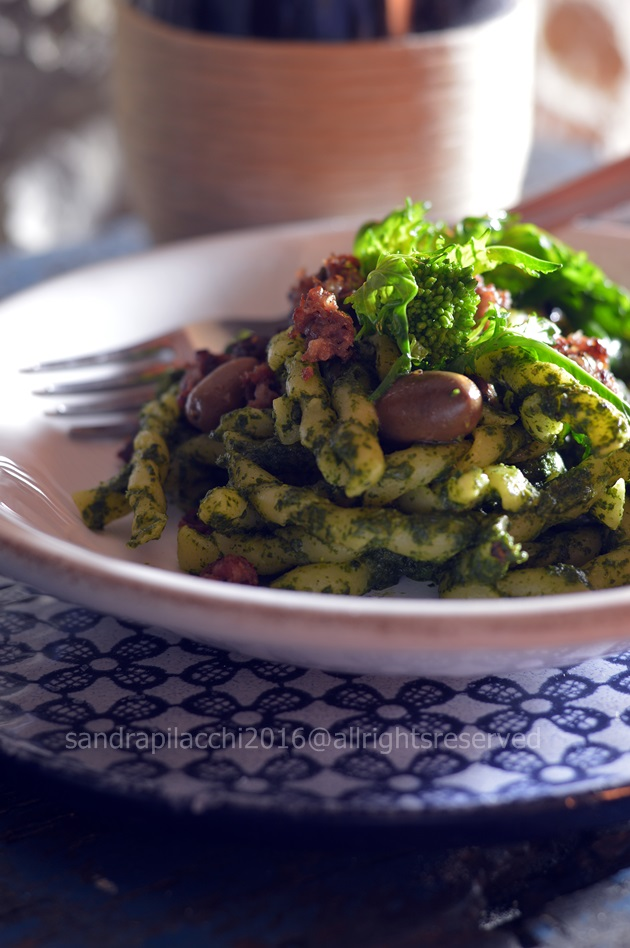 fusilli pesto rape e bardiccio 2