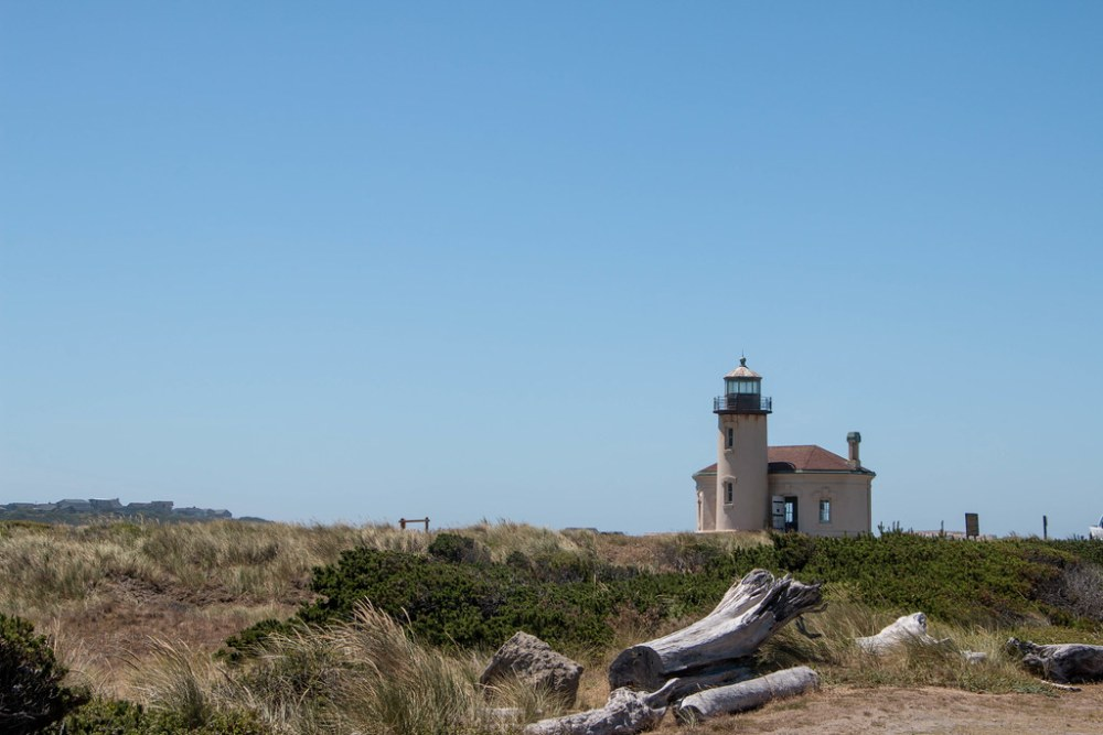 07.04. The Coquille River Lighthouse