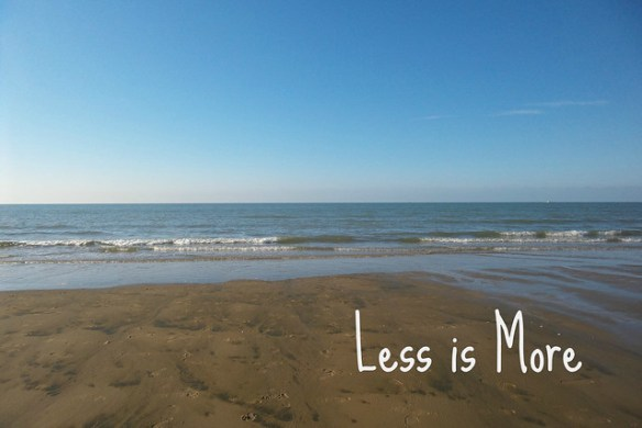 Less is More - minimaliseren voor beginners