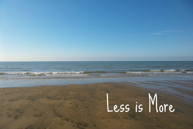 Less is More - minimaliseren voor beginners