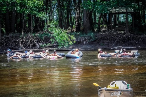 Edisto Beer Commercial and Rope Swing Float-106