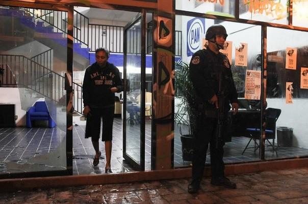 Atacan oficinas del PAN en Chilpancingo
