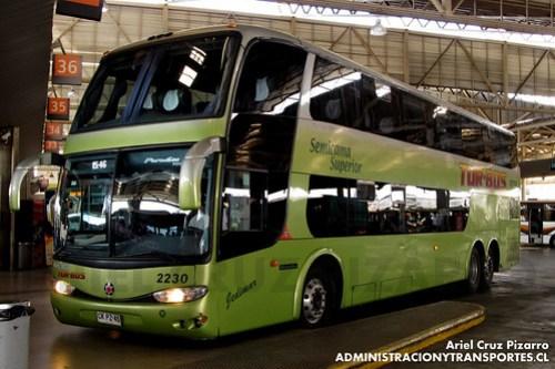 Tur Bus - Santiago - Marcopolo Paradiso 1800 DD / Mercedes Benz (CKPZ45)