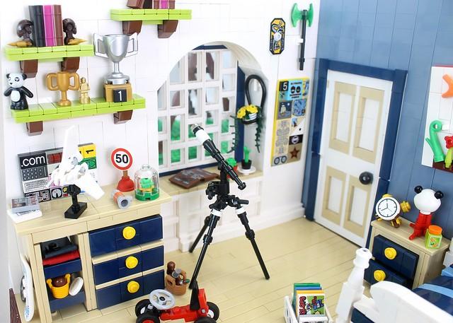 LEGO Chambre zoom 2