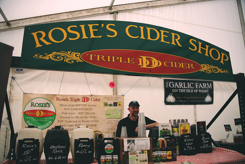 Rosie's Cider Shop  at the Royal Bath and West Show