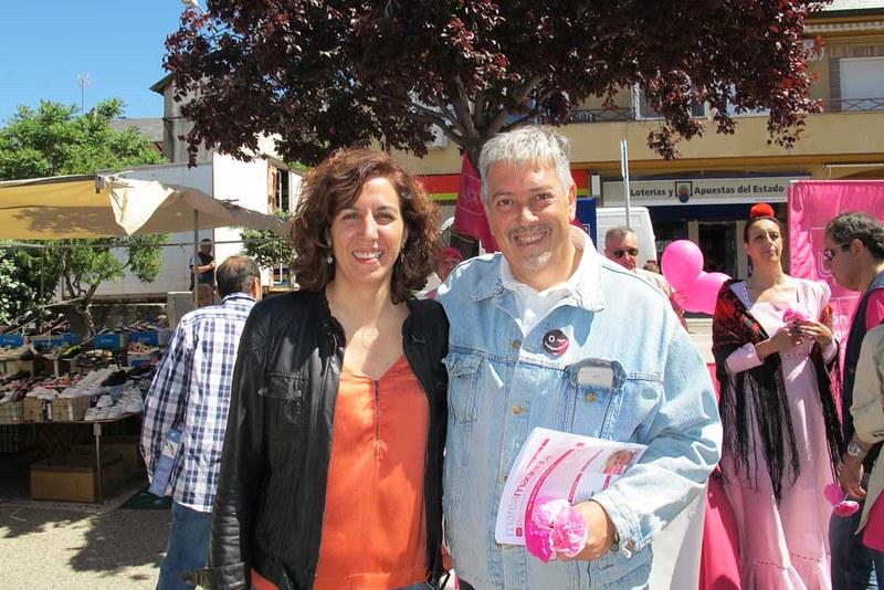Irene Lozano y Fernando Tellado