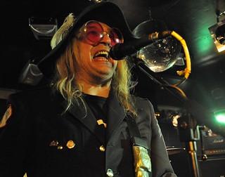 Chip Z'Nuff of Enuff Z'Nuff at Diamond Rock Club, Ahoghill, 16 May 2015