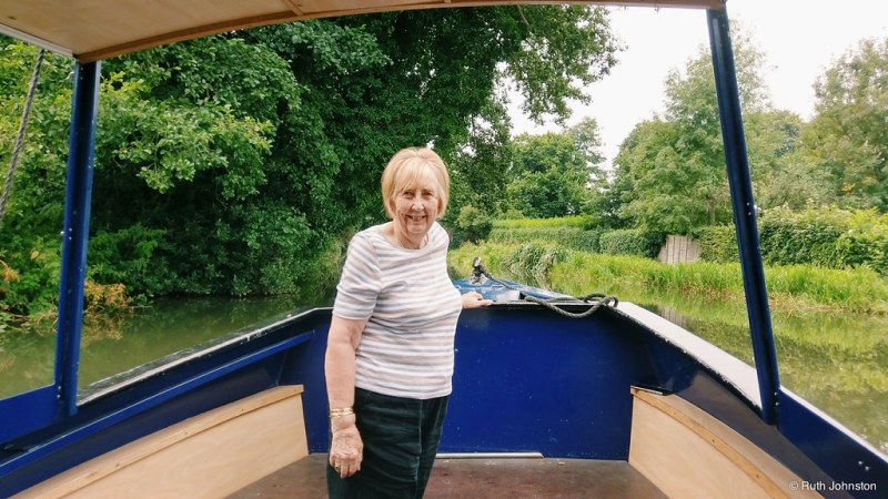 Gran's Birthday on a Boat
