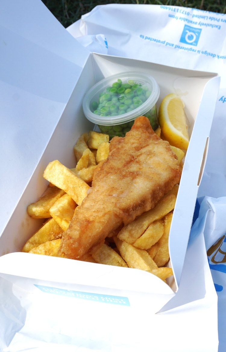 Olley 39 s fish experience eating gluten free in london for Gluten free fish and chips